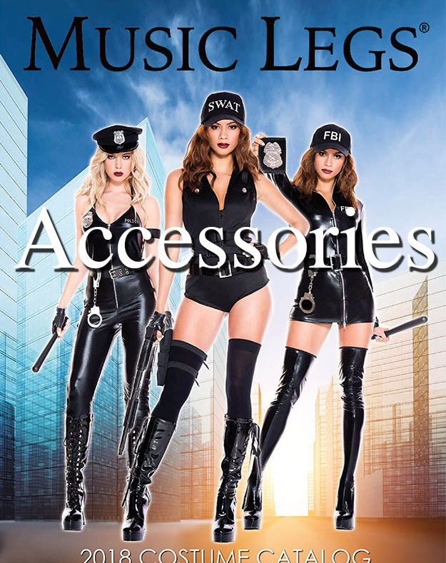 Music Legs Costumes Accessories 2018