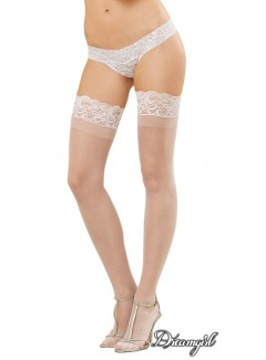 DG0005 - Sheer Stay Up (WHITE)