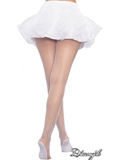 DG0257H - Fishnet Pantyhose (WHITE)
