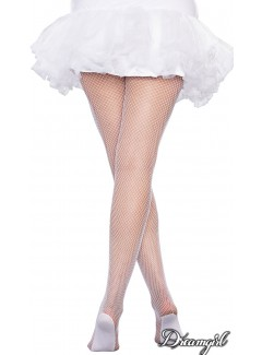 DG0257HX - Fishnet Pantyhose (WHITE)