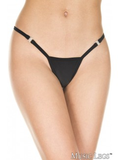 ML10027 - Clip G-String (BLACK)