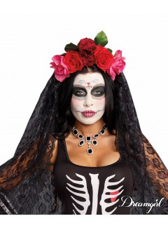 DG10003 - DAY OF THE DEAD HEADPIECE