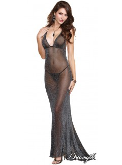 DG10013 - Metallic Gown