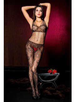 ML1019 - Shredded strap bodystocking