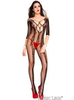 ML1021 - Vine Bodystocking