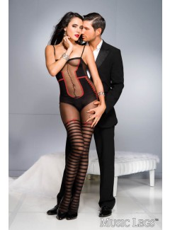 ML1025 - Bodystocking (BLACK)