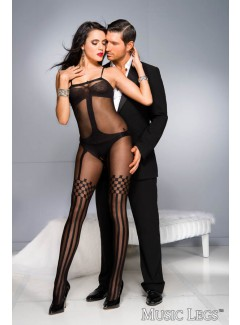 ML1026 - Bodystocking (BLACK)