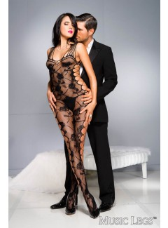 ML1027 - Bodystocking (BLACK)