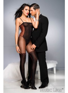 ML1028 - Bodystocking (BLACK)