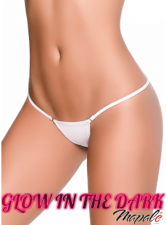 MA1092 - Clip Y Back Thong (White)