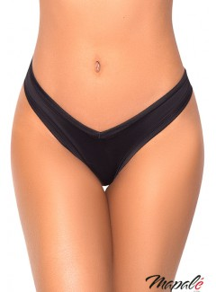 MA1096 - High Leg Thong (BLACK)