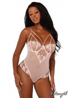 DG11814 - Embroidered Rose Teddy