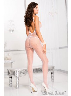 ML1291 - Bodystocking (WHITE)