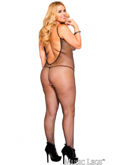 ML1291Q - Bodystocking (BLACK)