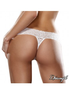 DG1376 - Lace thong  (WHITE)