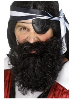 SM1501 - Pirate Beard (BLACK)