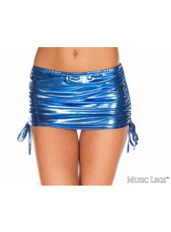 ML154 - ADJUSTABLE MINI SKIRT (BLUE)