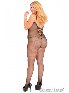 ML1891Q - Bodystocking (BLACK)
