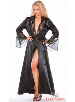 SH20559 - Long Robe (BLACK)