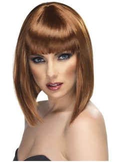 SM42135 - Glam Wig (BROWN)