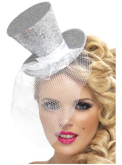SM21192 - Mini Top Hat (SILVER)