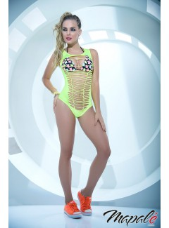 MA2482 - TWO PIECE BODYSUIT (NEON GREEN)