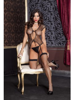 ML2484 - Bustier & Stocking Set