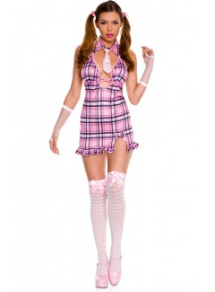 ML25072 - SWEET PINK PLAID TOP 1 STUDENT