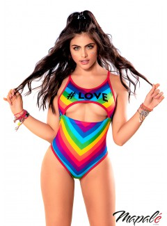 MA2626 - #LOVE Bodysuit