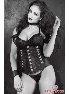 SH31065 - Faux Leather Corset
