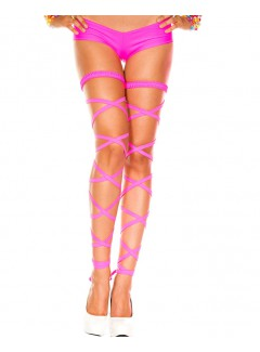 ML34004 - Thigh hi (NEON PINK)