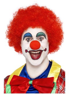 SM42089 - Clown Wig (RED)