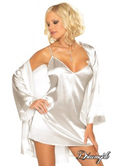 DG3717 - Satin Robe Set