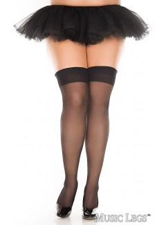 ML4101Q - Thigh Hi (BLACK)