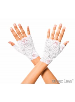 ML416 - Gloves (WHITE)