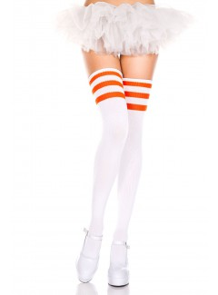 ML4245 - Thigh Hi (WHITE/ORANGE)