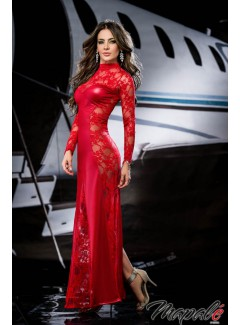 EP4284 - Long Gown (RED)