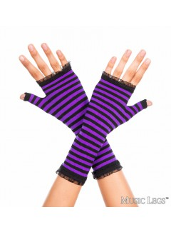 ML431 - Gloves (BLACK / PURPLE)