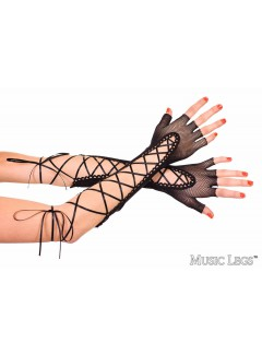 ML433 - Gloves  (BLACK)