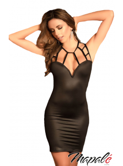 MA4527 - Cage Neckline Dress
