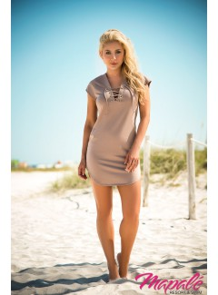 MA4614 - Dress (TAUPE)