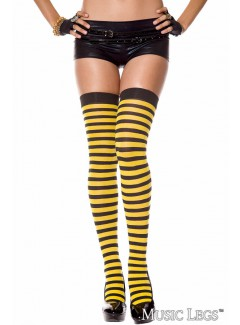 ML4741 - Thigh Hi (BLACK/YELLOW)
