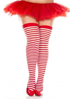 ML4741Q - Thigh Hi (RED/WHITE)