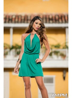 AM4847 - Dress (EMERALD)