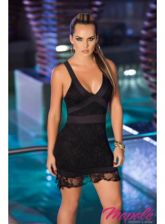 AM4856 - Dress (BLACK/BLACK)