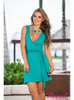 AM4916 - Dress (Turquoise)