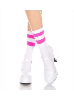 ML526 - Ankle Hi (WHITE/HOT PINK)