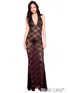 ML53012 - Gown (BLACK)