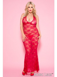 ML53012Q - Gown (RED)