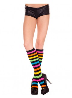 ML5307 - Knee hi & over the knee (Rainbow)